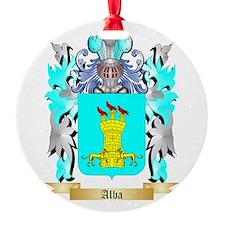 Alba Ornament