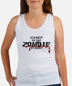 Chef Zombie Women's Tank Top