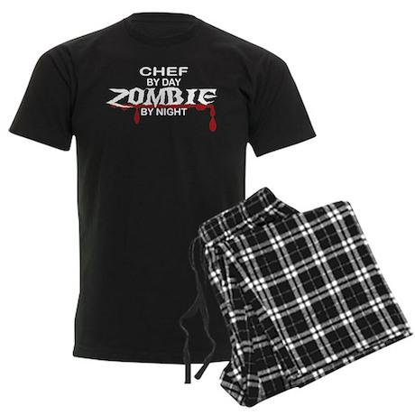 Chef Zombie Men's Dark Pajamas