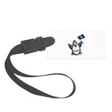 Montana Penguin Luggage Tag