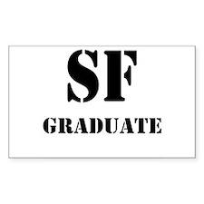 Sound Factory Graduate Rectangle Decal