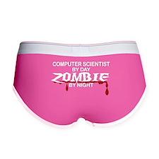 Computer Scientist Zombie Women's Boy Brief