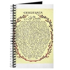 DESIDERATA Poem Journal