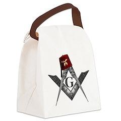 Shrine fez roots Canvas Lunch Bag
