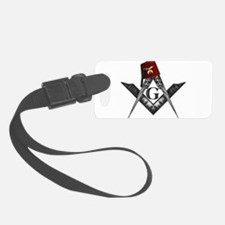 Shrine fez roots Luggage Tag