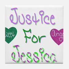 Justice for Jessica Tile Coaster