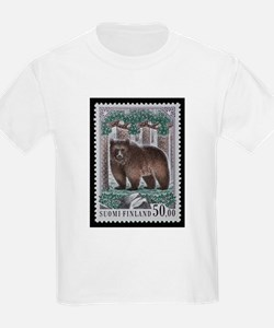 Vintage Postage Stamp - The Bear T-Shirt