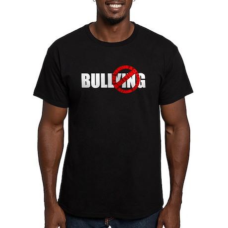 Anti Bullying Men's Fitted T-Shirt (dark)