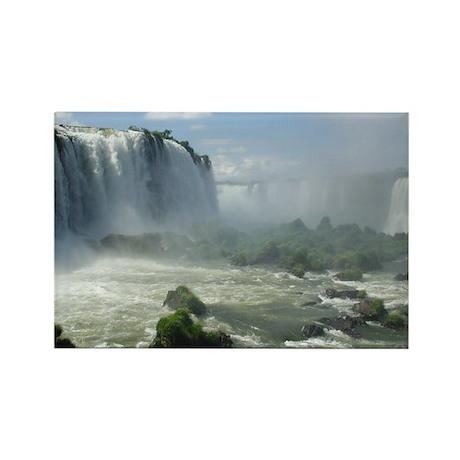Iguacu Falls, Brazil 4 Rectangle Magnet