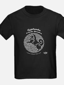 Eyjahunda Logo White Background T