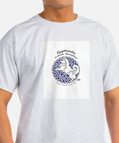 Eyjahunda Logo White Background T-Shirt