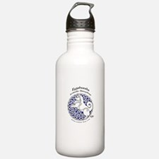 Cute Icelandic sheepdogs Water Bottle