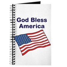 Cute God and country Journal