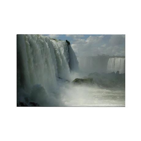 Iguacu Falls, Brazil 6 Rectangle Magnet