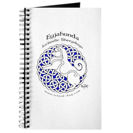 Eyjahunda Logo White Background Journal