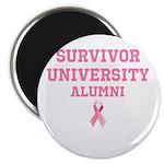 Survivor University Magnet