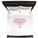Survivor University King Duvet