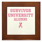 Survivor University Framed Tile