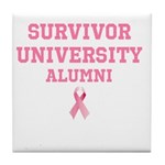Survivor University Tile Coaster
