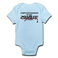 Computer Engineer Zombie Infant Bodysuit