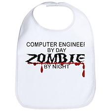 Computer Engineer Zombie Bib
