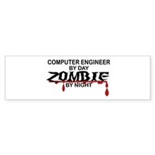 Computer Engineer Zombie Bumper Sticker