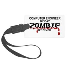 Computer Engineer Zombie Luggage Tag