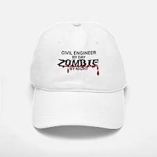 Civil Engineer Zombie Baseball Baseball Cap