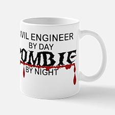 Civil Engineer Zombie Mug