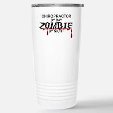 Chiropractor Zombie Stainless Steel Travel Mug