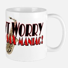 DONT WORRY SAX- BLACK RED-PHOTO copy.png Mug