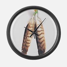 Native Large Wall Clock