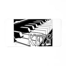 KEYS- MARTINI -PHOTO.psd Aluminum License Plate