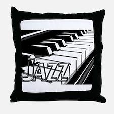JAZZ- CHROME -PHOTO.psd Throw Pillow
