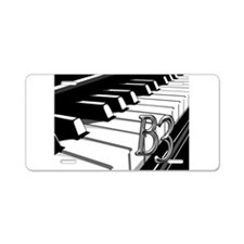 B3- CHROME -PHOTO.psd Aluminum License Plate