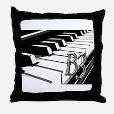 B3- CHROME -PHOTO.psd Throw Pillow