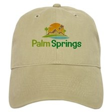 Palm Springs khaki Baseball Cap