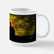 Incomprehensible - scattered Mug