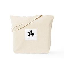 Moroni On A Horse Tote Bag