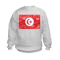 Vintage Tunisia Flag Sweatshirt