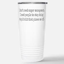 Anger management Stainless Steel Travel Mug