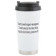 Anger management Travel Mug