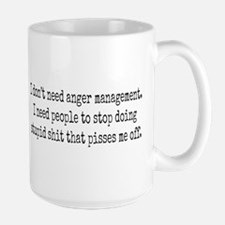 Anger management Ceramic Mugs