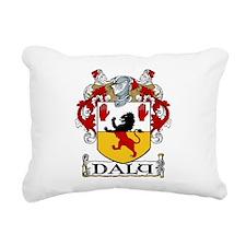 Daly Coat of Arms Rectangular Canvas Pillow
