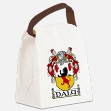 Daly Coat of Arms Canvas Lunch Bag