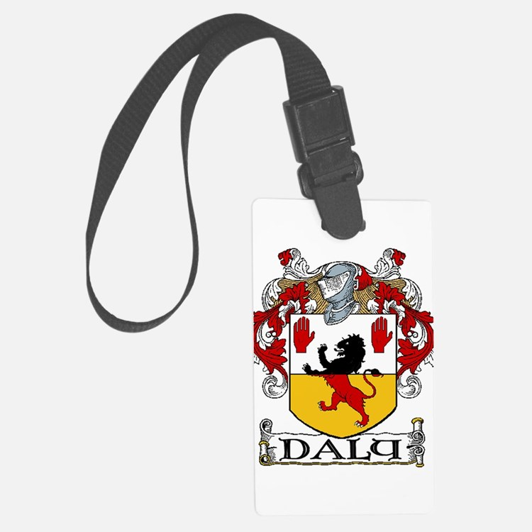 Daly Coat of Arms Luggage Tag
