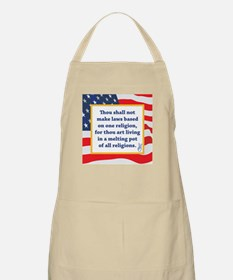 No Religious Zealots in Office! Apron