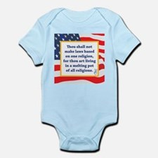 No Religious Zealots in Office! Infant Bodysuit