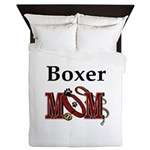 Boxer Mom Queen Duvet