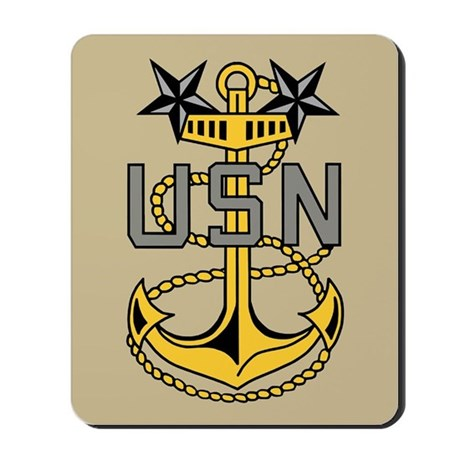 Master Chief Petty Officer<BR> Mousepad 3